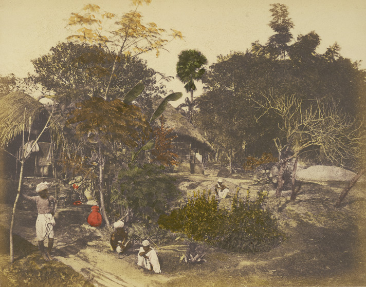Village near Calcutta (Garden Reach)